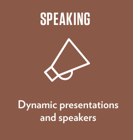 Dynamic presentations and speakers