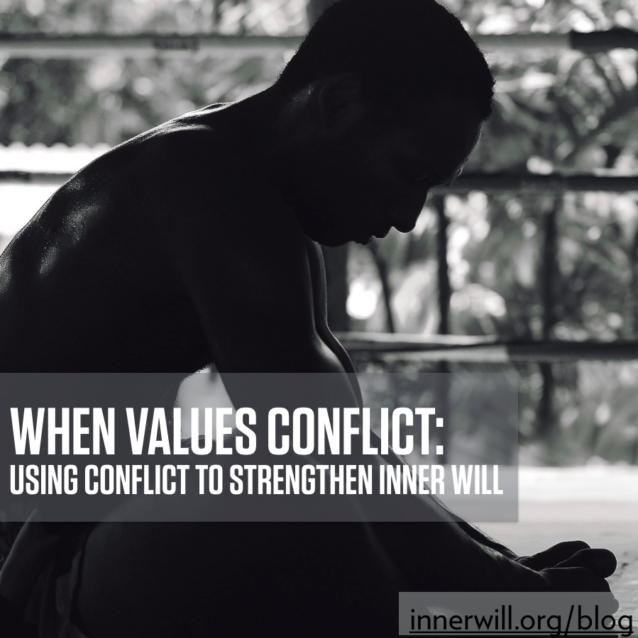 when values conflict